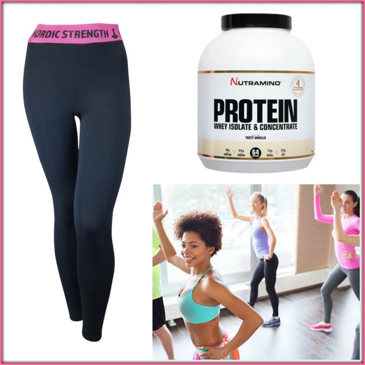 sund livsstil - proteinpulver - træning - motion - kost