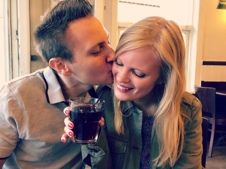Kæreste-billede fra café Fik Ret