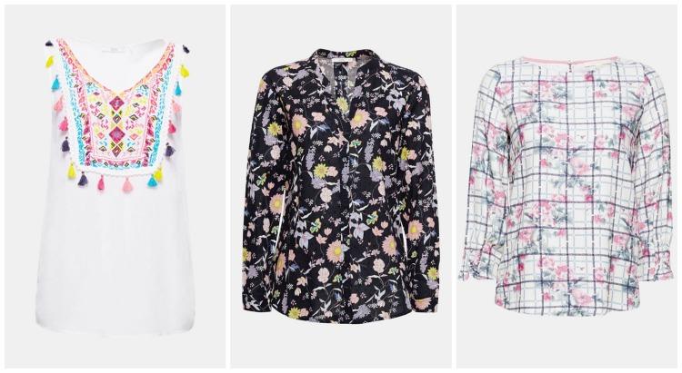 Blomstrede bluser - Sommertøj til kvinder