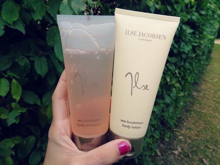 Ilse Jacobsen - body shampoo & body lotion