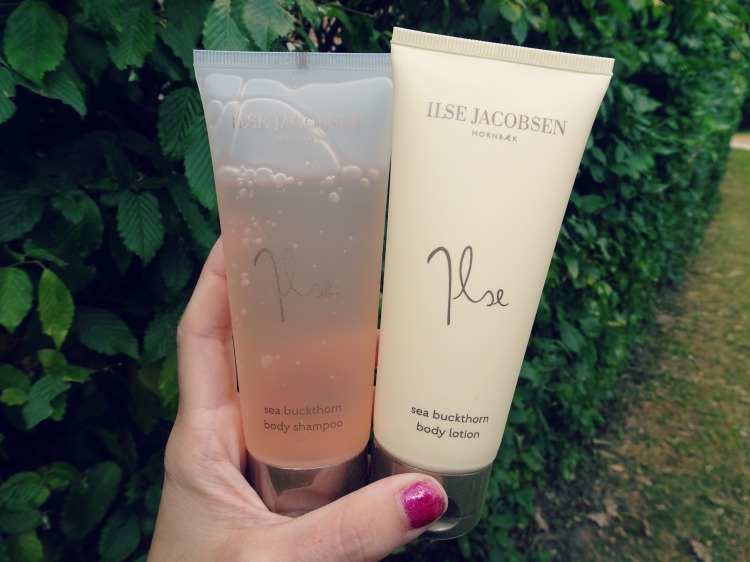 Ilse Jacobsen - body shampoo & body lotion