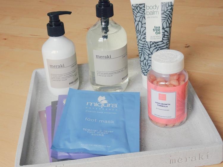 Skønhed, hudpleje og velvære: Meraki, Australian Bodycare, Miqura & Hair Lust