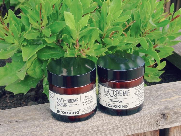 Natcreme og anti-rødme creme fra Ecooking - Skønhed ny beauty hudpleje