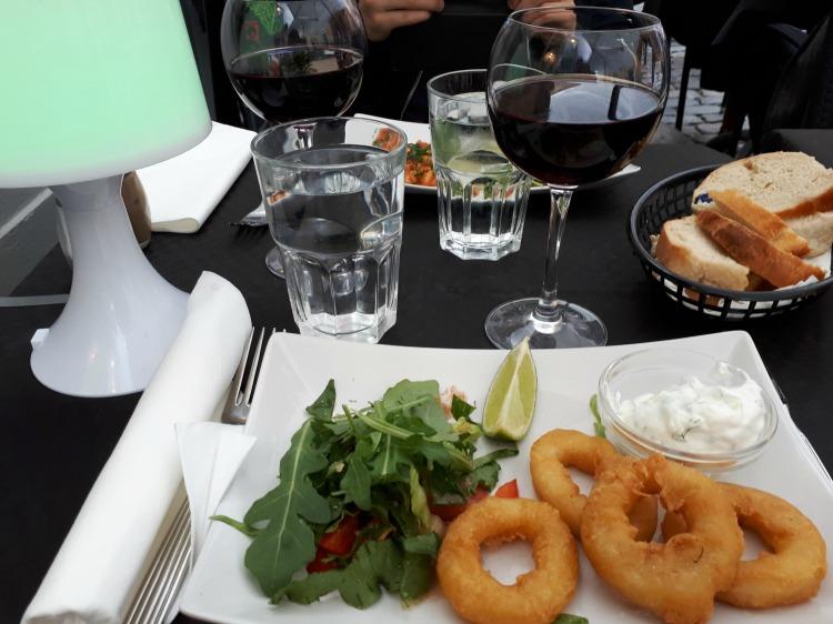 Kærestetid – kærestehygge – månedsdag – middag på Restaurant Eros i København