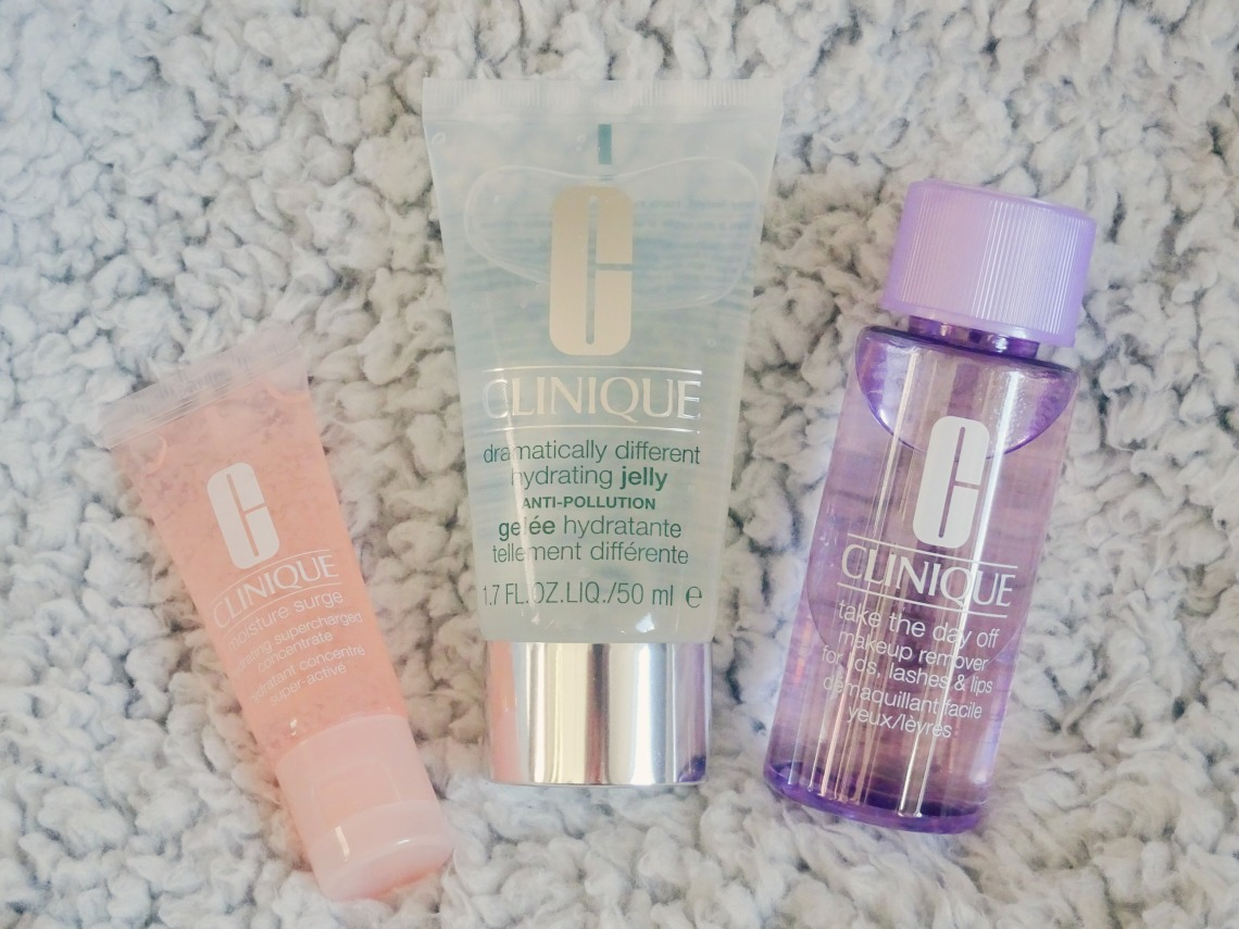 Favoritter fra Clinique – Makeup remover – Take the day off – jelly – moisture surge – skønhed – beauty – hudpleje - skincare