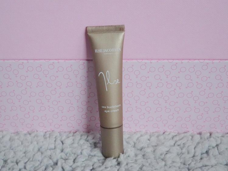 Goodiebox.dk – Girlboss. Ilse Jacobsen – Sea Buckthorn Eye Cream. Skønhed. Hudpleje. Beauty. Skincare.