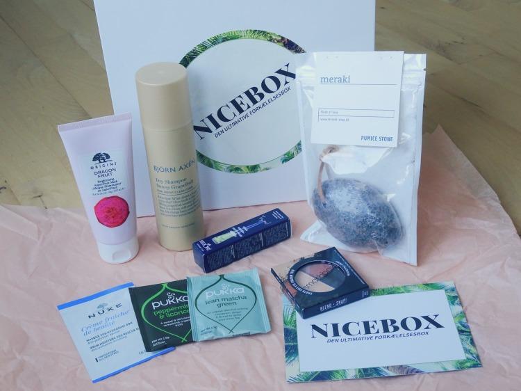 Nicehair.dk – Nicebox – oktober. Skønhed. Beauty. Hudpleje. Smashbox. Origins. Meraki.