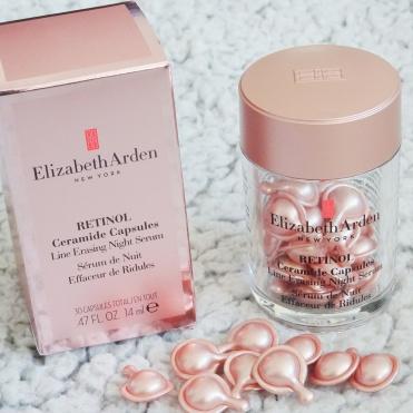 Elizabeth Arden ceramide capsules - night serum. Skønhed, beauty og hudpleje.