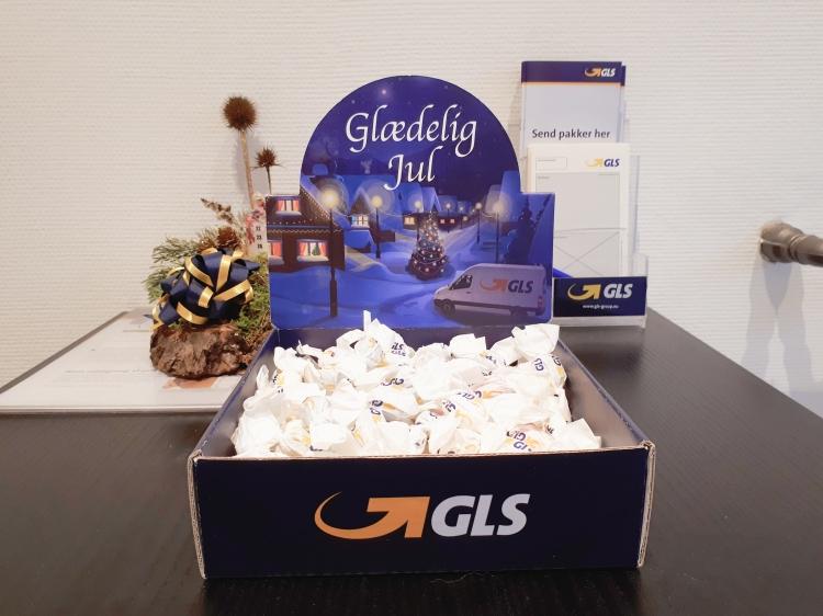 Julehygge på arbejde - og julegave fra GLS