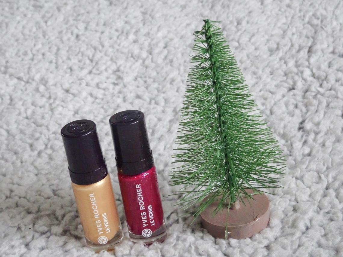 Jule-neglelakker fra Yves Rocher
