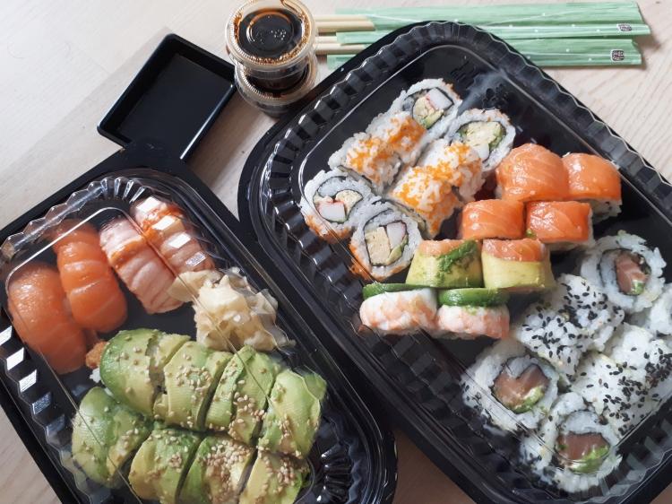 Sushi hygge