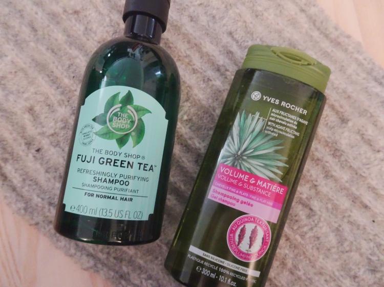 Shampoo – The Body Shop – Yves Rocher