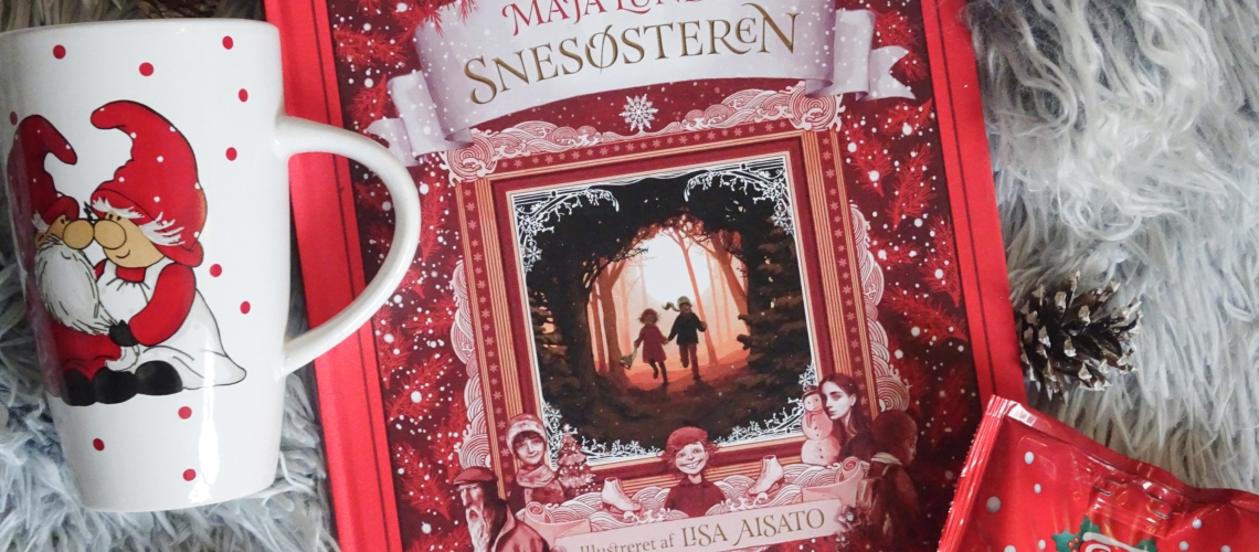 Snesøsteren af Maja Lunde. Illustreret af Lisa Aisato. Turbine forlag.