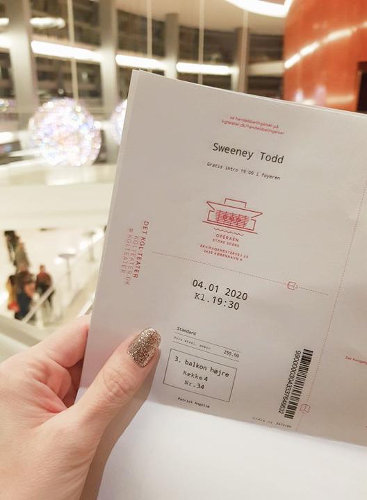 Sweeney Todd musical i Operaen