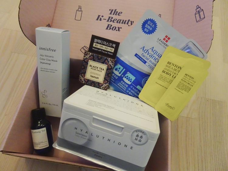 Suri suri k-beauty box
