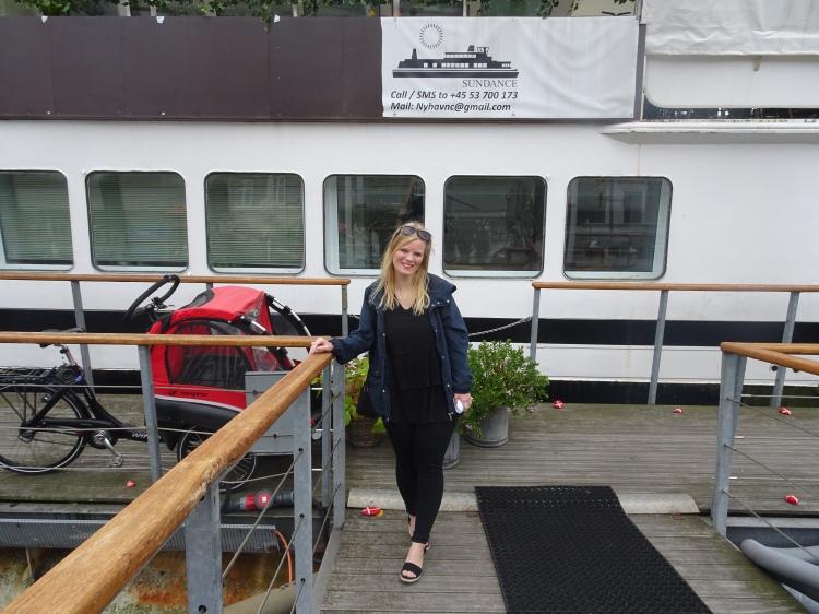 Brunch på skibet MS Sundance
